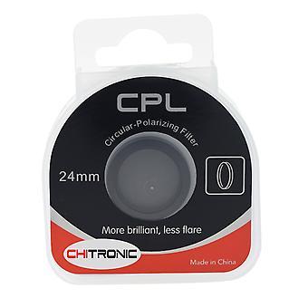 Amacam cpl filterglas 24mm lins - cirkulär polarisator lämplig för den am-m88 och am-90 bil streck ca