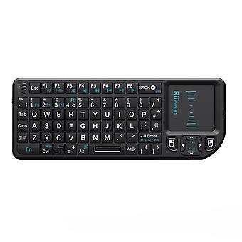 Rii k01x1 2.4 ghz mini bezprzewodowa klawiatura z myszą touchpad pilot kodi xmbc pilot rii x1