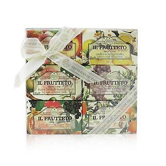 Nesti Dante Il Frutteto Soap Gift Set (#Peach & Limão, #Citron & Bergamota, #Fig & Leite de Amêndoa, #Red Uvas & Mirtilo, #Pomegranate & Blackcurrant, #Olive Oil & Tangerine 6x150g/5.3oz