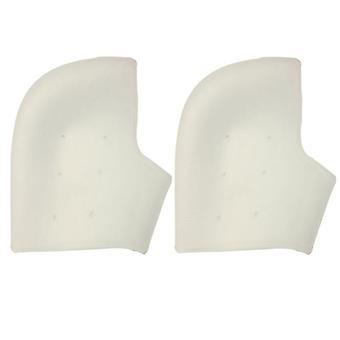 Silikonowa pokrywa pięty 1 para Biała