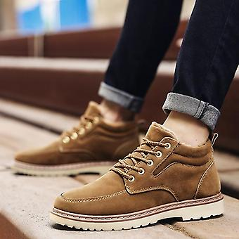 Genuine Leather Ankle Winter Work, Military & Snow Boots