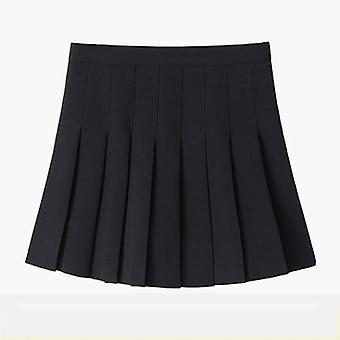 נשים מותניים גבוהות קוספליי חצאית אביב קיץ ג'ינס אחיד A-line מלחים הספר