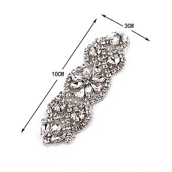 Rhinestone Appliques For Wedding Belt Shoes Jacket Jewelry Diy Sew Appliques
