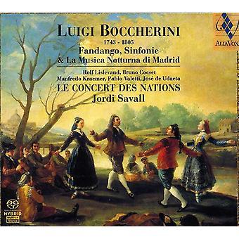 L. Boccherini - Boccherini: Fandango, Sinfonie & La Musica Notturna Di Madrid [SACD] USA import