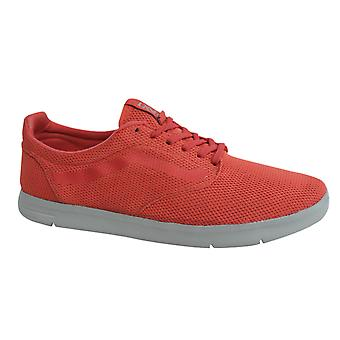 Vans Off The Wall Iso Textile Trainer Schnürung Koralle rote Schuhe VHHZU0 B119C