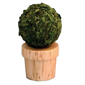 Nuket talo pieni topiary pensas puu puu ruukku miniatyyri puutarha lisävaruste
