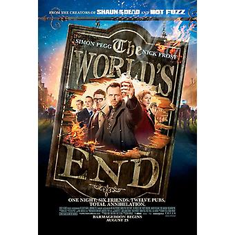 Worlds End Movie Poster Print (27 x 40)