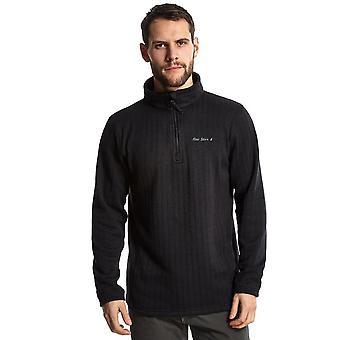 New Peter Storm Men's Kendal Walking Casual Half Zip Fleece Black