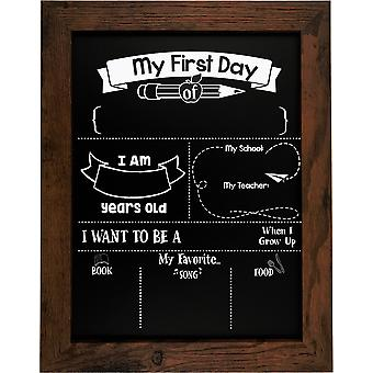 11 x 14 My First Day Chalkboard Combo Kit