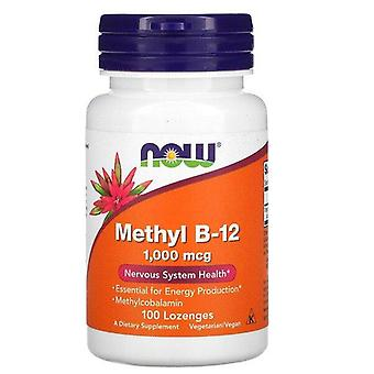 Maintenant Aliments, Méthyl B-12, 1000 mcg, 100 Pastilles