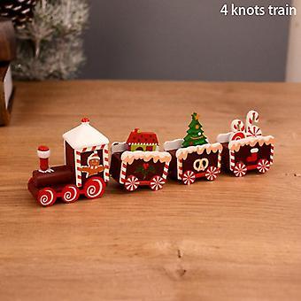 خشبية عيد الميلاد عيد الميلاد زخرفة زخرفة للمنزل سانتا كلوز الحرف الجدول