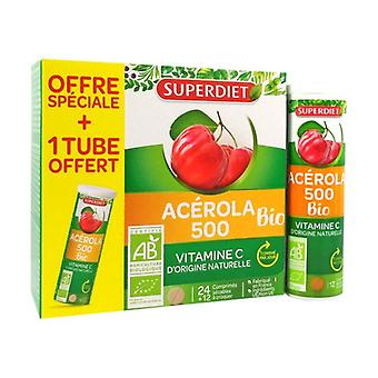 Acerola 500 Bio +1 free tube 36 tablets