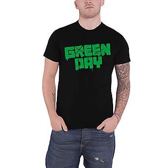 Green Day T Shirt Logo 21st Century Breakdown Band Logo new Official Mens Black