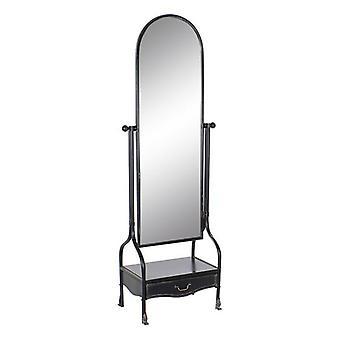 Vrijstaande spiegel DKD Home Decor Lade Vintage (64 x 40 x 183 cm)