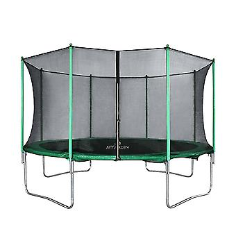Trampoline Domestic Indoor and Outdoor Sports with Safety Enclosure Net