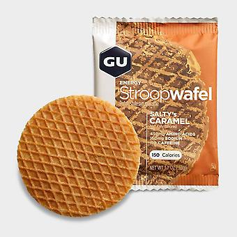 New Gu Waffle - Salted Energy Bars Natural