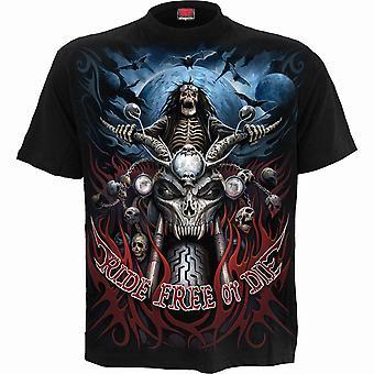 Ride Free T-Shirt Black
