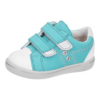 RICOSTA Double Velcro Fashion Trainer Style Shoe In Jade