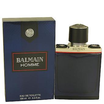 Balmain Homme Eau De Toilette Spray By Pierre Balmain 3.4 oz Eau De Toilette Spray