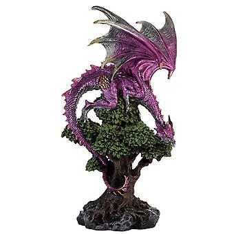 Lendas escuras decorativas dragão espírito de árvore