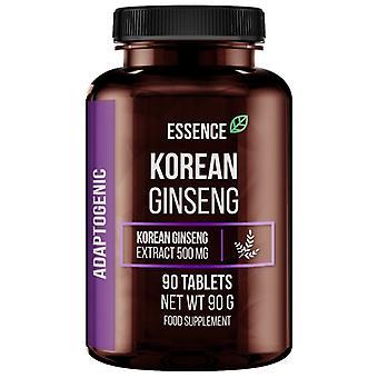 Essence Nutrition Korean Ginseng 500 mg 90 tablets