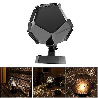 Starry Sky Galaxy Projector, Blueteeth, Usb Voice Control Music Player, Led