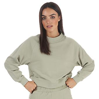 Women's Only Zoey Life Raglan Sweatshirt in Groen