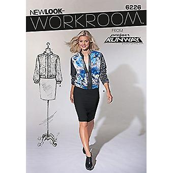 New Look Sewing Pattern 6226 Misses Jacket Size 4-16 E 30-42