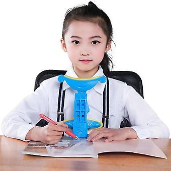 Børn Sidder Kropsholdning Corrector, Antimyopia Sitting Support Brace Skrivning