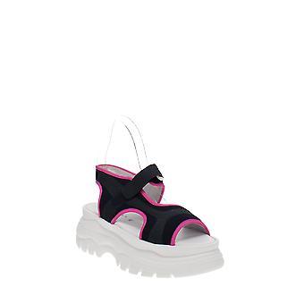Joshua Sanders   Fuxia Spice Platform Sandals