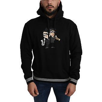 Dolce & Gabbana Cotton DG Musicians Hoodie Sweater - TSH4944