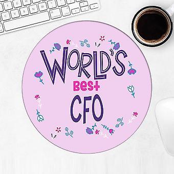 Gift Mousepad: Worlds Best CFO Great