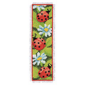 Vervaco Counted Cross Stitch Kit: Signet: Ladybirds