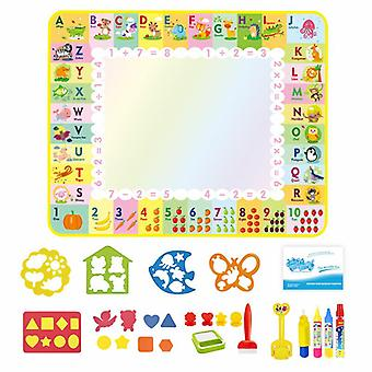 Magic doodle mat educational kids water drawing toys gift kt-2