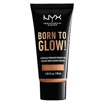 Flydende fyldes op Base Foundation født til glow Nyx