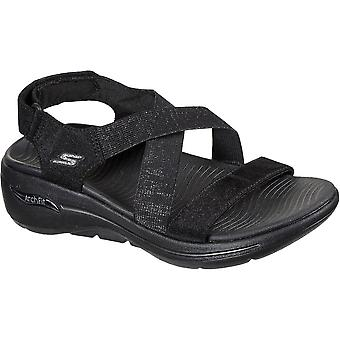 Skechers Womens Go Walk Arch Fit Astonish Summer Sandals