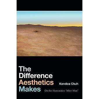 The Difference Aesthetics Makes  On the Humanities After Man by Kandice Chuh