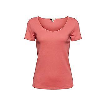 edc av Esprit 041CC1K305 T-Shirt, 645/Coral, L Donna