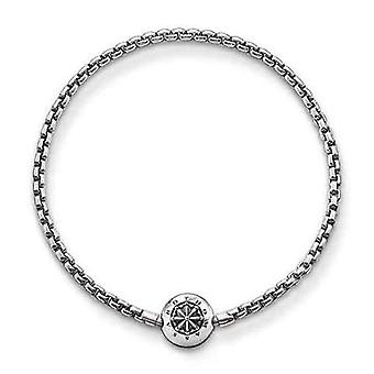 Thomas Sabo Karma Beads, Unisex, Rannekoru, Sterling Silver 925 Niellato(1)