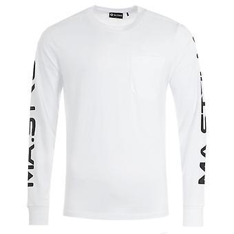 MA.Strum Pocket Long Sleeve T-Shirt - White