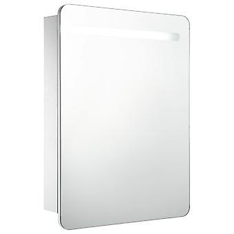 vidaXL LED badkamer spiegelkast 60 x 11 x 80 cm