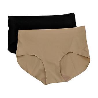 Rhonda Shear Panties 2-Pack Soft Body Brief Black 738226