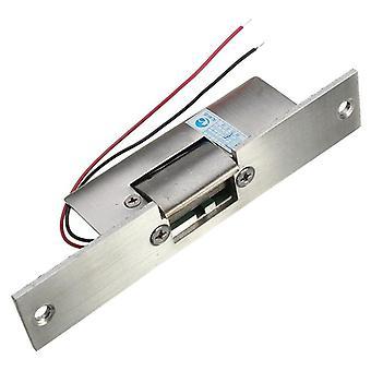 Ruostumaton ovi 12v Dc vikaturvallinen Ei kapeatyyppinen ovi sähköisku lukko