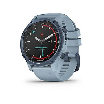 Garmin Descent™ Mk2S Light Blue/Blue Silicone Bracelet Blue 010-02403-07