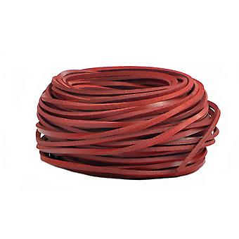 1 Pair Of Genuine Leather Laces