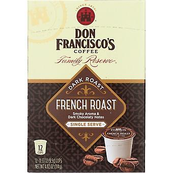 Don Francisco Coffee Frnch Rst Ss, Case of 6 X 12 Pack