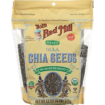 Bobs Red Mill Seed Chia, Fodral på 6 X 12 Oz