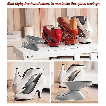 Removable Shoe Storage Rack Saving Space Rotating Double Layer Shoes Organizer
