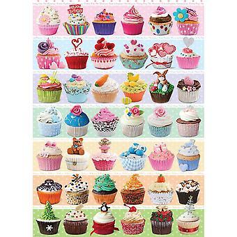 Eurographics Cupcake Celebration Jigsaw Puzzle (1000 Pieces)