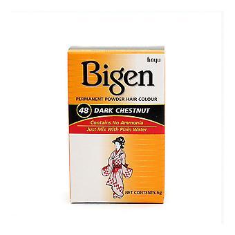 Permanent Dye Bigen Nº48 Dark Chestnut (6 gr)
